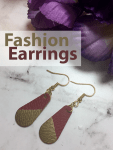 Learn to Make Easy Fashion Earrings