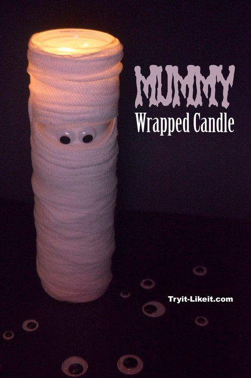 mummy candle