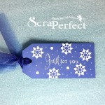 Gift Tag Tutorial with ScraPerfect