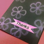 Making a Card with Mica Powder