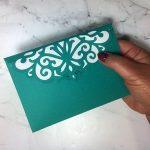 Lace Envelope SVG