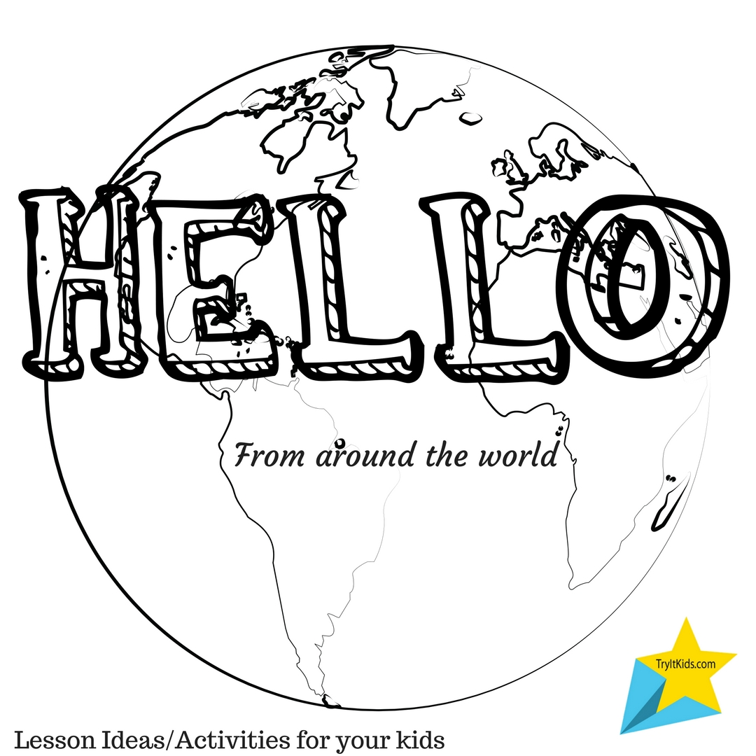 Kidsmarty Saying Hello Around The World Try It Kids Inc