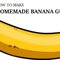 Make Your Own Homemade Banana Gum
