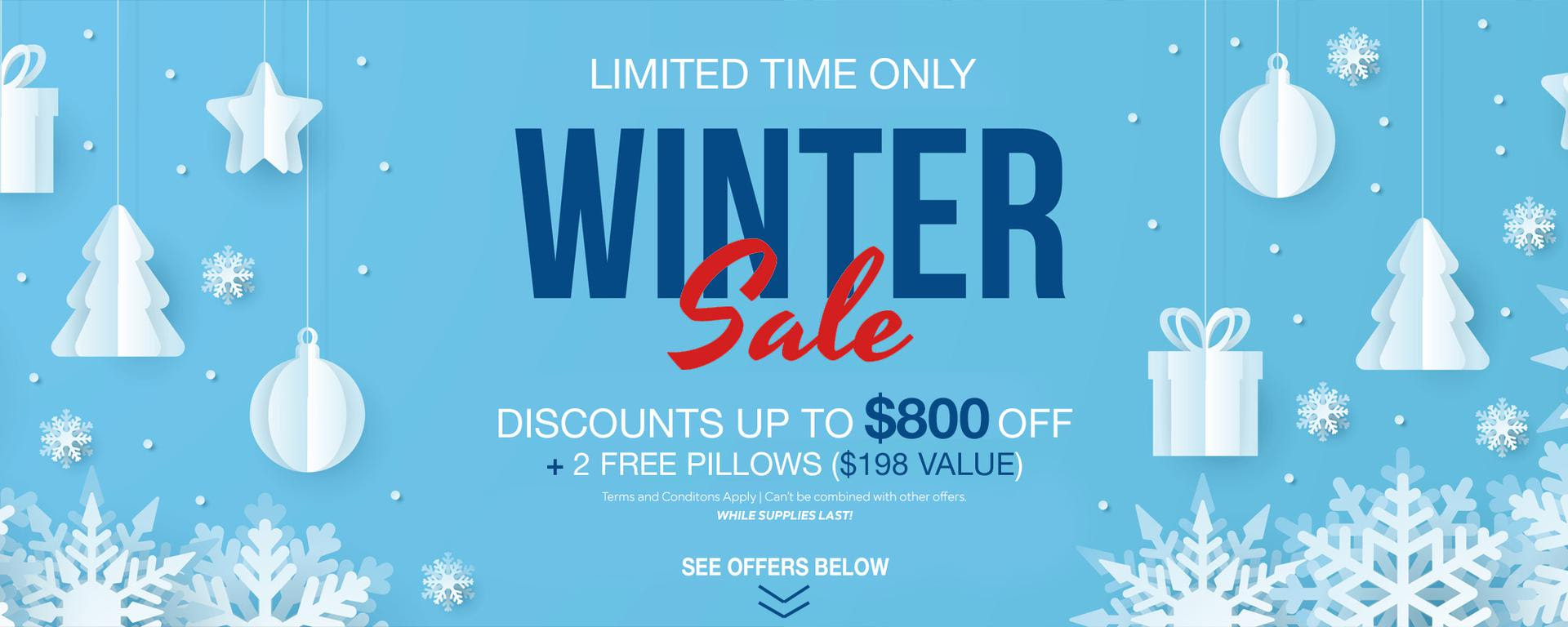 Winter Sale for Nolah Beds