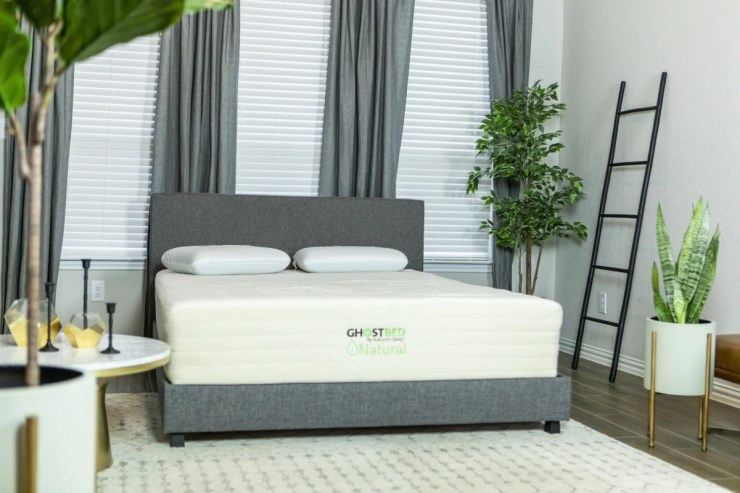 Try Any Mattress of Your Choice RISK-FREE @ Home W/ Free Delivery GhostBed__Natural2 Best Latex Coil Hybrid Mattress Reviews (Spring Sale)