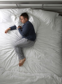 Try Any Mattress of Your Choice RISK-FREE @ Home W/ Free Delivery side-sleeper-man Best Mattress for Back Pain Back Pain Mattresses  latex hybrid mattresses for back pain best mattresses back pain back pain mattress