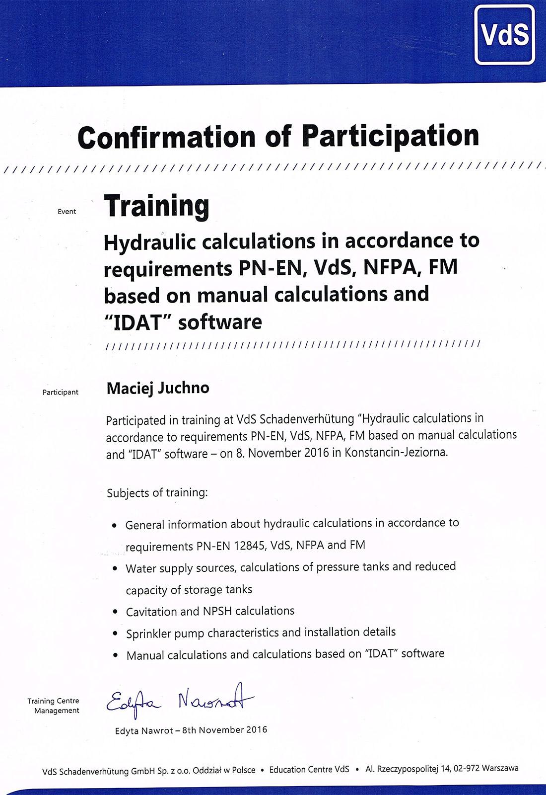 certyfikat_2016_obliczenia-hydrauliczne_mj_en