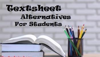 Textsheet-Alternatives