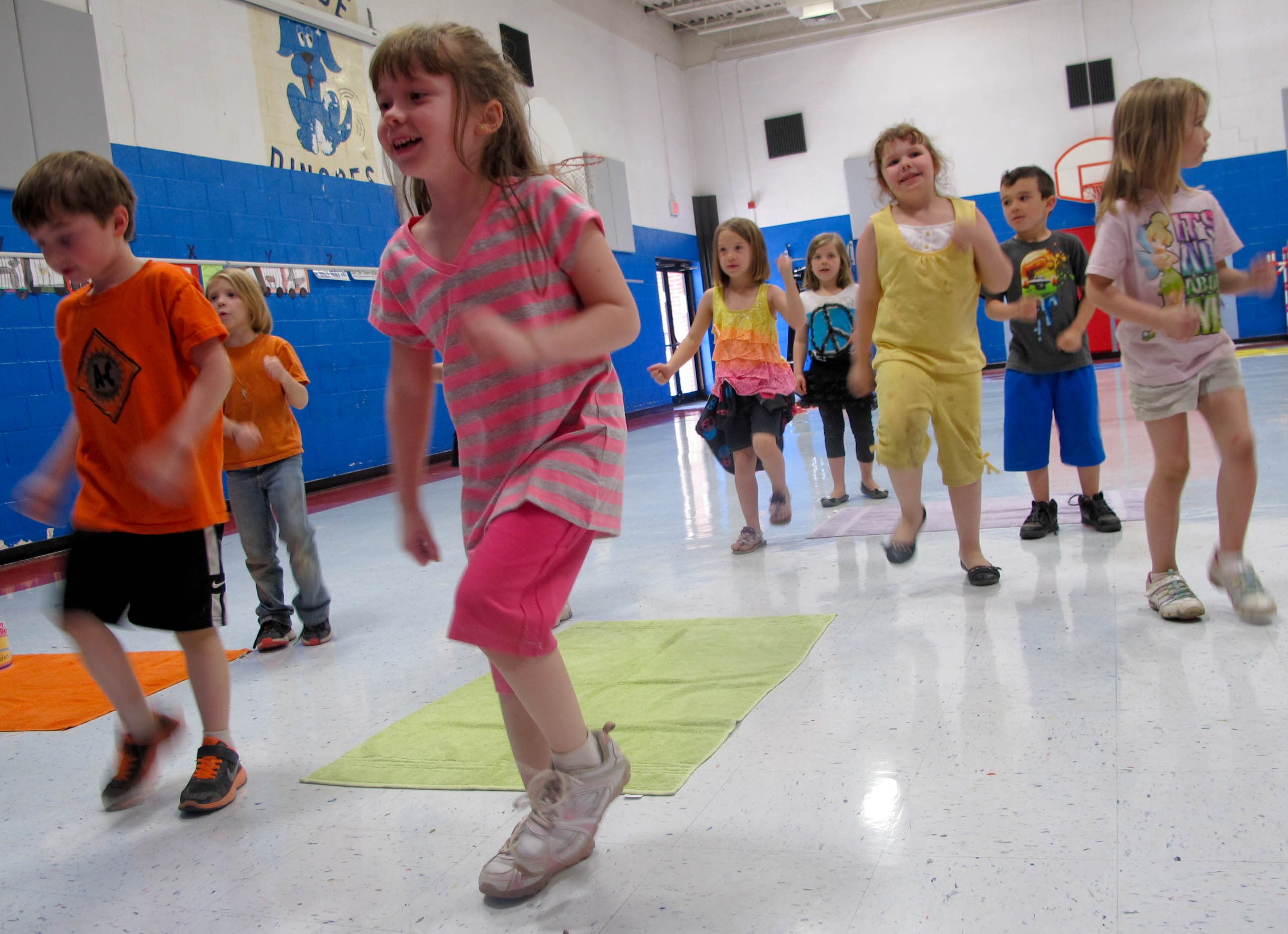 Gym Activities For Elementary School