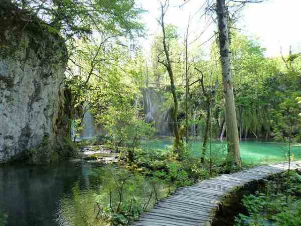 木道:プリトヴィツェ国立公園