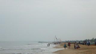 リゾート地の一つ、ネゴンボビーチ:スリランカ
