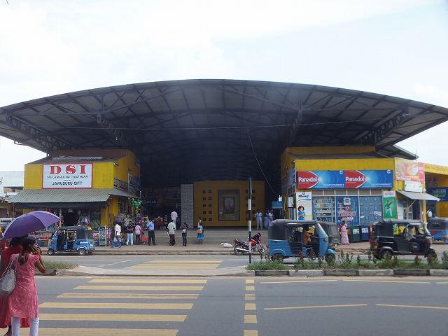 ダンブッラ長距離バスステーション:スリランカ