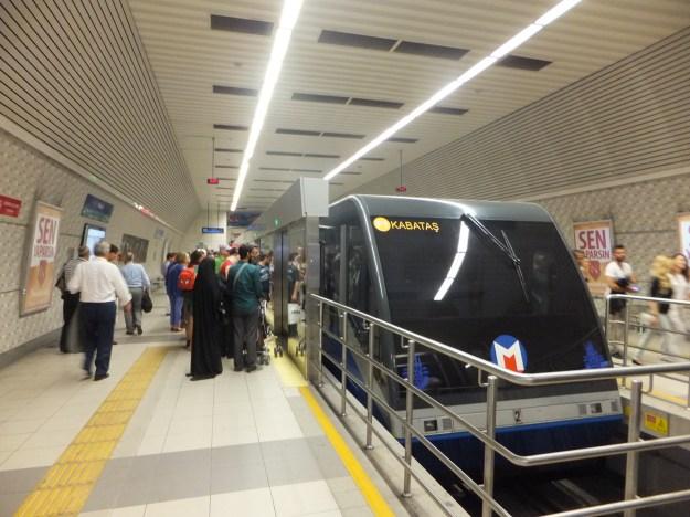 イスタンブールの地下鉄