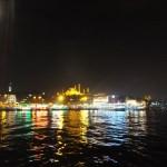 ガラタ橋 夜の風景