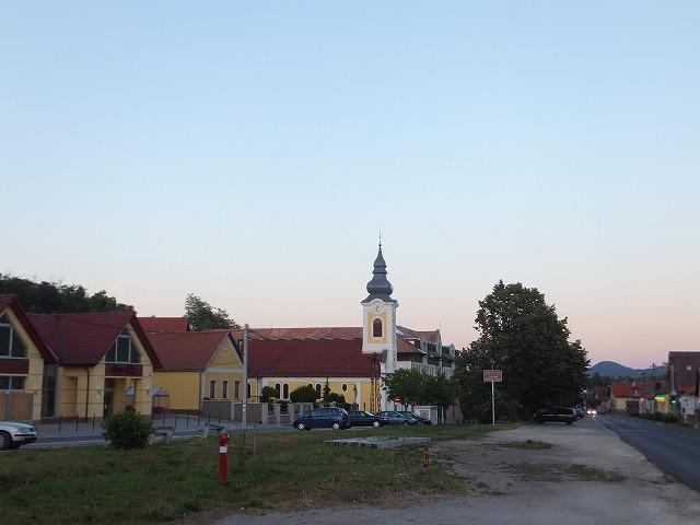 ハンガリーSzentivan村にある教会