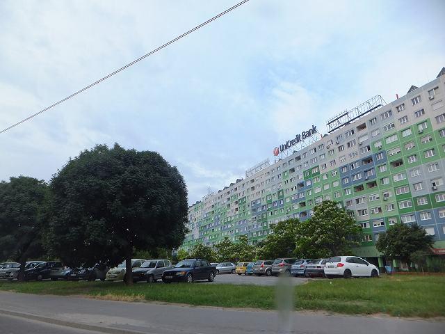 ブダペスト市内にある、共産主義時代の建物