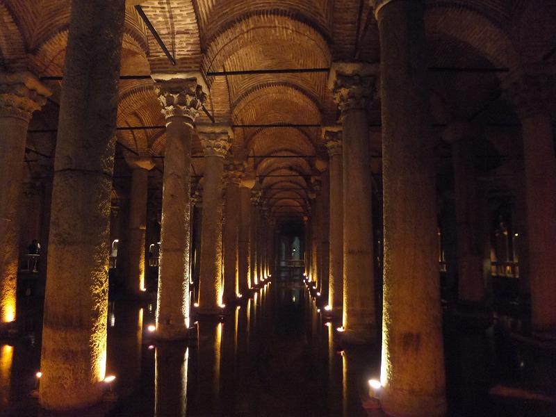 地下宮殿の写真:イスタンブール