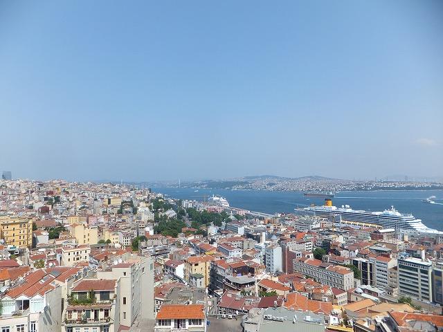 ガラタ塔から見た、イスタンブール