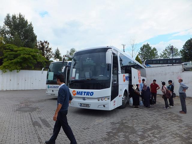 トルコ長距離バス界の大御所メトロ社