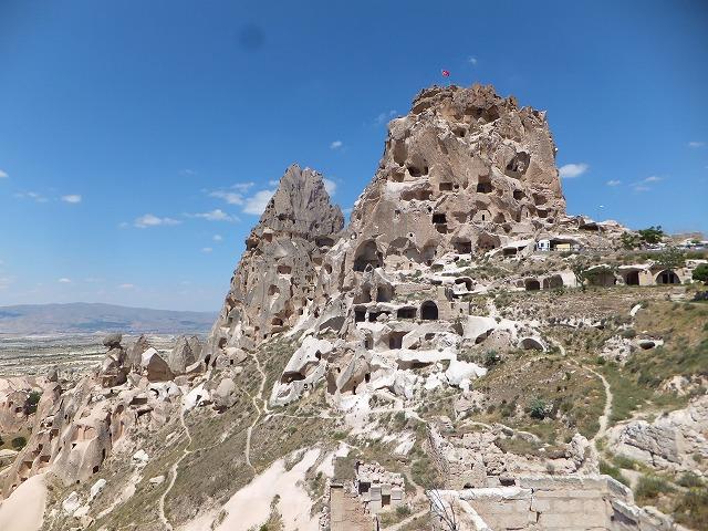ウチヒサル城の外観
