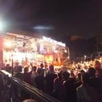 トルコ、ラマダンの夜の野外ライブ