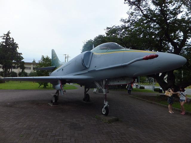 厚木航空施設にあった戦闘機