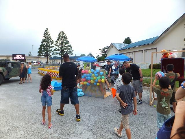 子どもたち用のゲームスペース:厚木フェスティバル