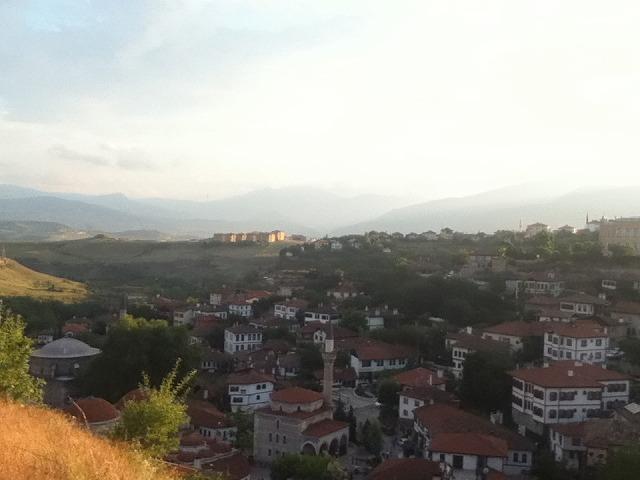 丘の上から見るサフランボル