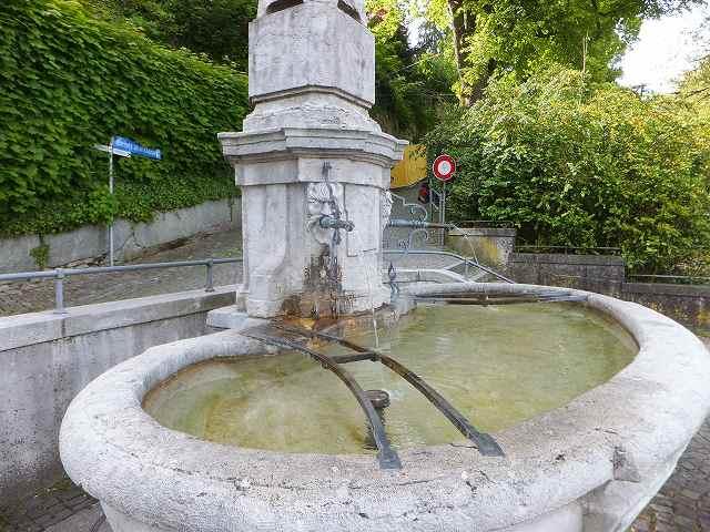 スイスベルンの水飲み場
