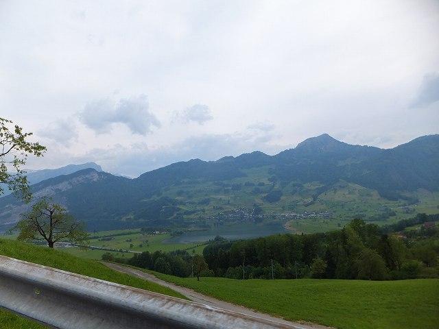 スイス、車からの車窓