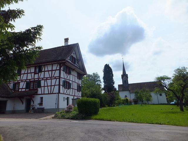 おばちゃんが住んでいる家:スイス