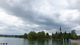 ツーク湖畔サイクリング:スイス