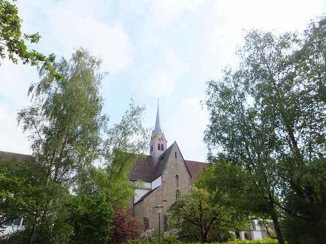 かつてモンクが住んでいた修道院:スイス