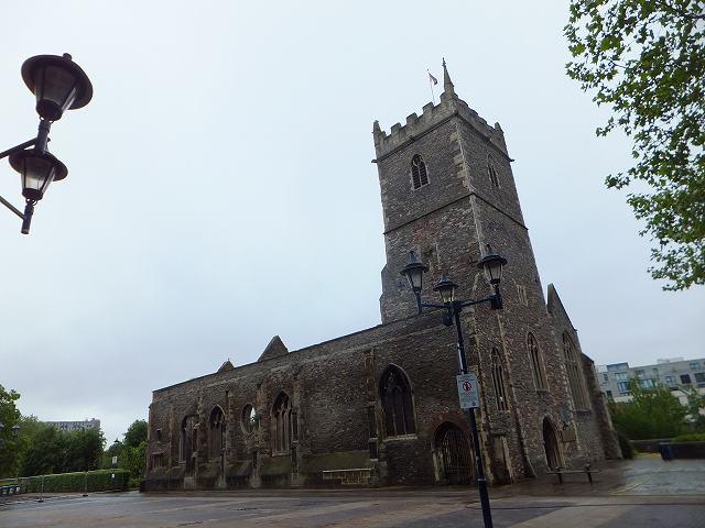 セントポール教会跡:ブリストル