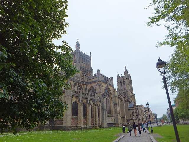 ブリストル大聖堂:イギリス