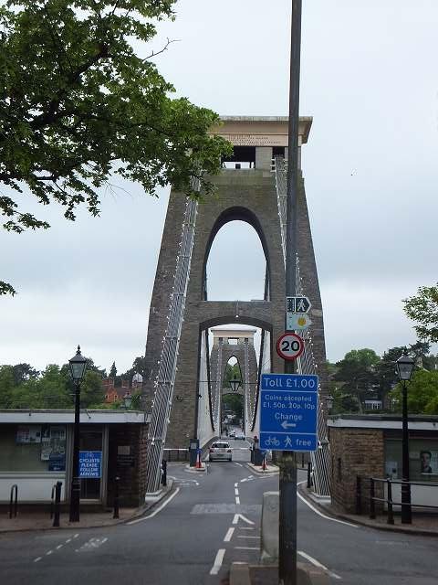 世界で最も古い吊り橋:ブリストル