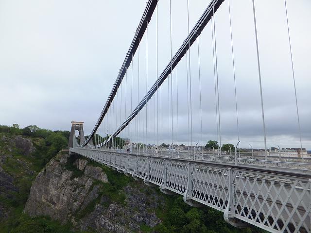 世界一古い吊り橋:ブリストル