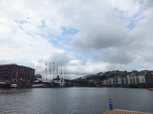 港町ブリストルの風景