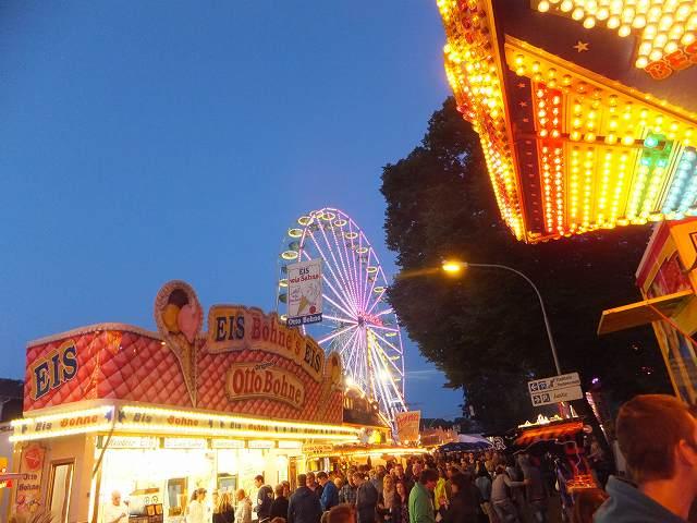 観覧車:ドイツの移動式遊園地