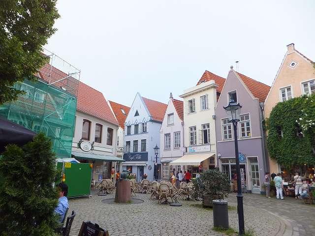 ブレーメン旧市街:ドイツ