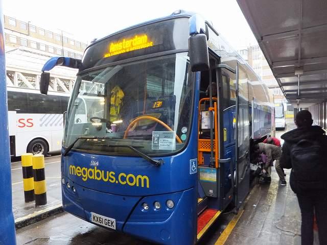 超格安長距離バス:メガバス megabus