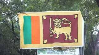 スリランカの国旗:意味は・・・忘れてしまった