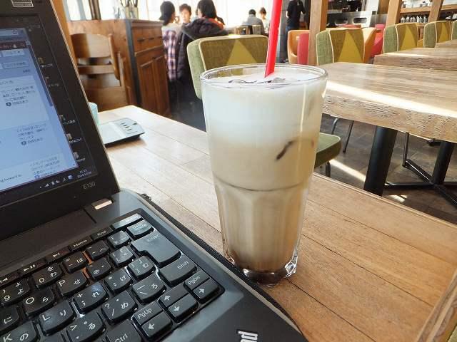 梅田のオシャレなカフェで一息♪