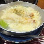 鍋焼きうどん:新梅田食堂街「新喜楽」