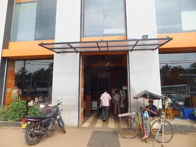 ダンブッラで行った食堂:スリランカ旅行
