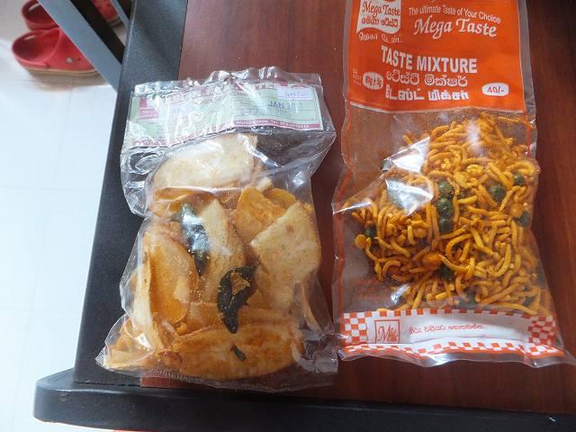 スナック菓子:スリランカ旅行