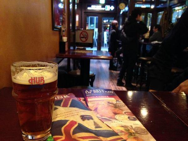 エールビール:ブリティッシュパブHUB店