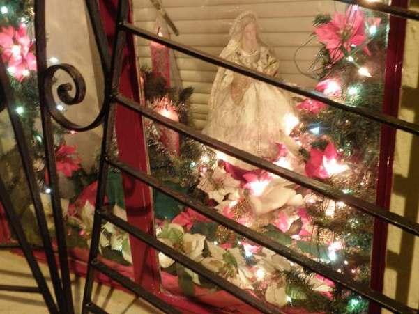 マリア様?クリスマスのデコレーション