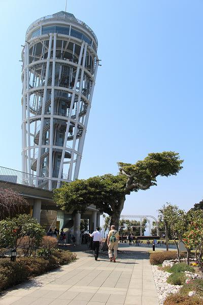 江の島シーキャンドル:江の島のタワー展望台