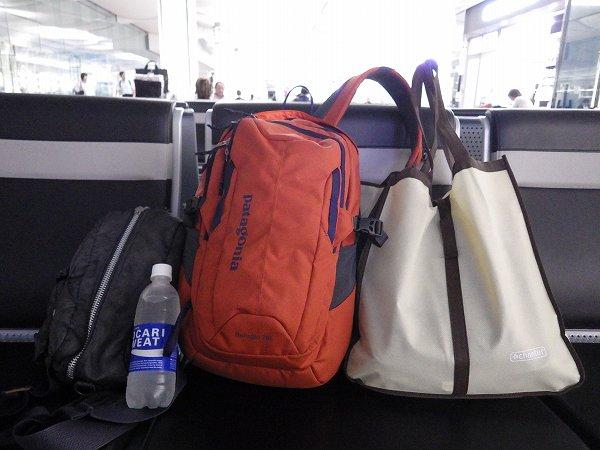 エアアジアに持ち込んだ手荷物